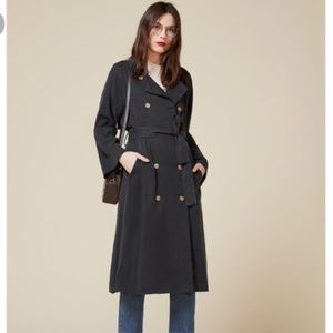 reformation kensington trench small